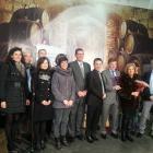Foto de familia bodegas Aldeanueva de Ebro