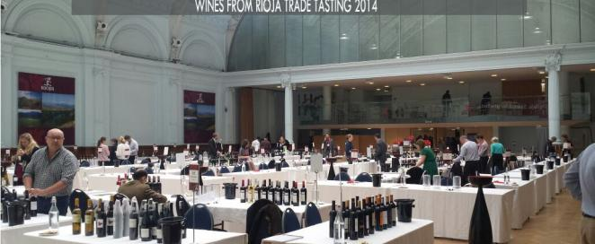 Real Rubio en Wines from Rioja Trade Tasting 2014