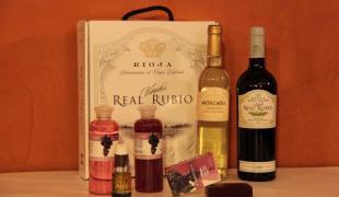 Lote vinoterapia Real Rubio especial San Valentín