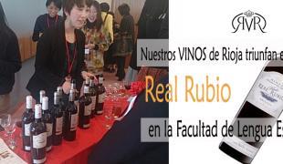 Real Rubio en la Facultad de Lengua Española de Japón