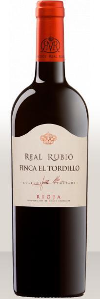 Botella Real Rubio Finca el Tordillo